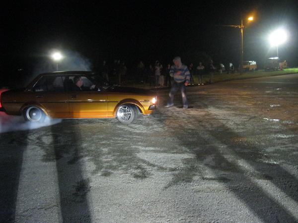 Peter Hassall car stunt